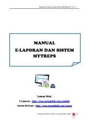 Manual Laporan Cadangan Pemajuan Lcp Edisi Ke 2