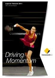 Laporan Tahunan 2011 - Commonwealth Bank
