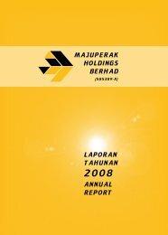 Laporan tahunan annuaL report Majuperak hoLdings ... - Properties