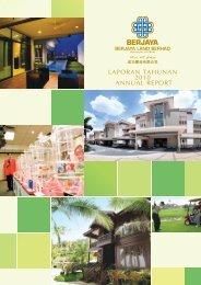 LAPORAN TAHUNAN 2010 ANNUAL REPORT - Berjaya Properties