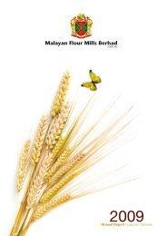 Annual Report | Laporan Tahunan - Malayan Flour Mills