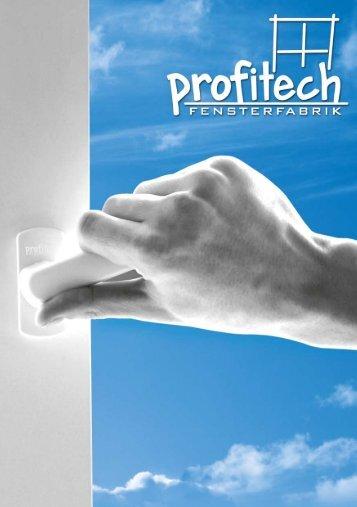 Profitech PVC Produkt-Folder PDF-Datei