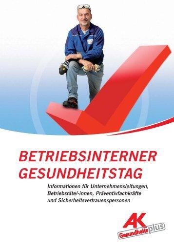 betriebsinterner gesundheitstag - Arbeiterkammer Oberösterreich