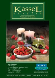 KasseL Candles Catalogue - Alma Importers