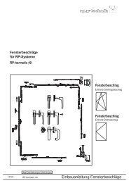 Beschlag - RP Technik