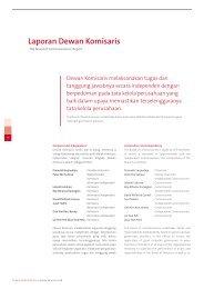 Laporan Dewan Komisaris - Bank OCBC NISP