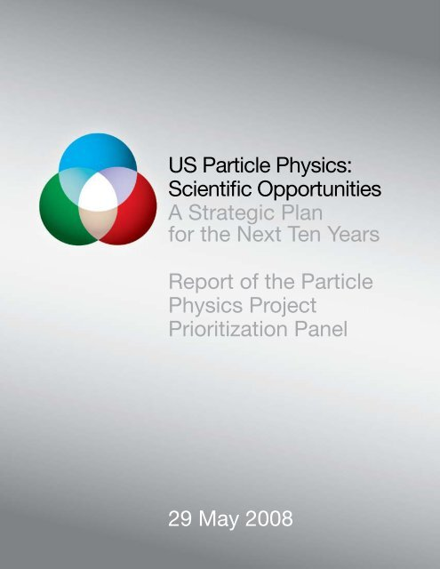 Scientific Opportunities. A Strategic Plan for the ... - Office of Science
