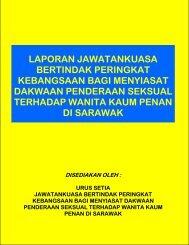 laporan jawatankuasa bertindak peringkat kebangsaan bagi