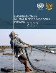 laporan pencapaian millennium development goals indonesia - UNDP