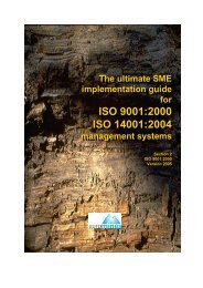 ISO 9001:2000 - Euromines