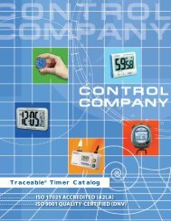 ISO 9001 QUALITY-CERTIFIED - Control Company