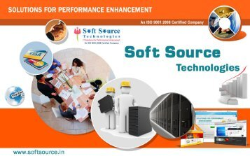 An ISO 9001:2008 Certified Company - Soft Source Technologies