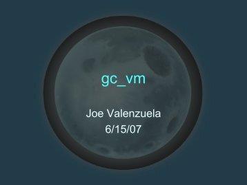 Joe Valenzuela 6/15/07