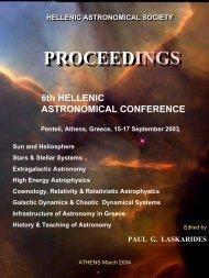 16.5 MByte PDF file - Hellenic Astronomical Society
