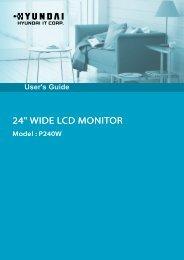 P240W 3D Display User Guide - SIM Digital