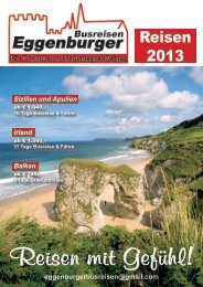 Katalog 2013.pdf - Eggenburger Busreisen