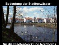 für die Stadtentwicklung Nordhorns Bedeutung der Stadtgewässer