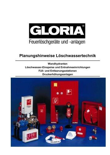 Planungshinweise Löschwassertechnik - Roth - Brandschutz- und ...