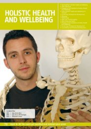 holis tic he alth and wellbeing - Tower Hamlets Idea Store Learning