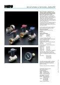 """Armături + Sisteme premium Robineţi sferici """"Optibal ... - Instal Focus - Page 4"""