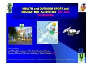 HEALTH and OUTDOOR SPORT and ALTH and OUTDOOR SPORT ...