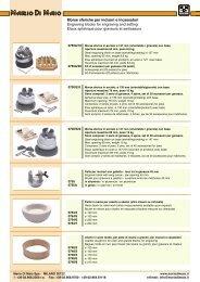Morse sferiche per incisori e incassatori Engraving ... - Mariodimaio.it
