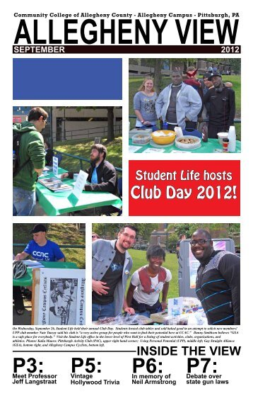 September 2012 - Community College of Allegheny County