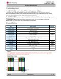 LG Display LB043WV2-SD01 - Avnet Embedded - Page 5