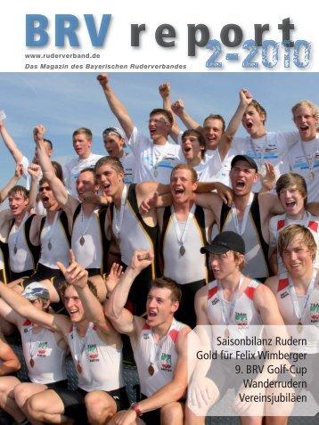 Ausgabe 2-2010 - Bayerischer Ruderverband