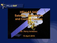 HELLAS SAT Satellite, Operations and Control Centers