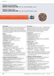 BETAflam® Sicherheitskabel NHXH FE180 / E30-E60 0,6 / 1 kV ...
