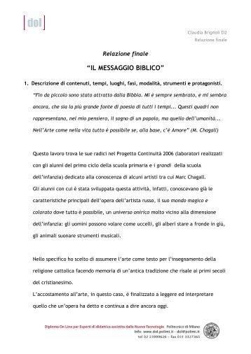 Relazione finale: relazione__brignoli.pdf - Scuolab