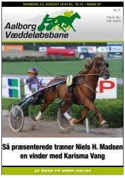 Så præsenterede træner Niels H. Madsen en vinder med Karisma Vang