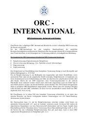 ORC-International Aufwand und Kosten 2013 - Deutscher Segler ...