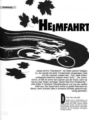 Heimfahrt - Vera Novelli