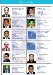 Member list - Jagannath Hall Alumni Association of UK