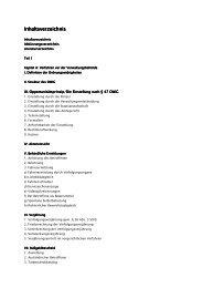 Inhaltsverzeichnis Inhaltsverzeichnis - Deubner Recht & Praxis