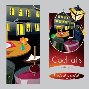 Cocktailkarte Eintracht_280x280.indd - Eintracht Kirchberg