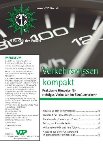 Verkehrswissen kompakt Verkehrswissen kompakt - Verlag ...