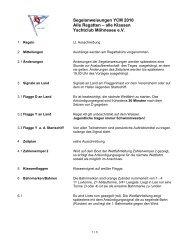 Segelanweisungen Möhneseepokal Pirat RR 1 - raceoffice.org - Das!