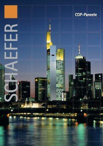 COP-Paneele - WS-Schaefer