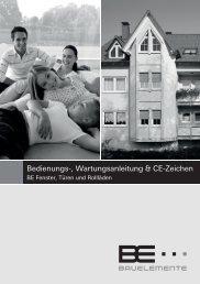 Bedien und Wartung CE 2012 .indd - Tischlerei Albers