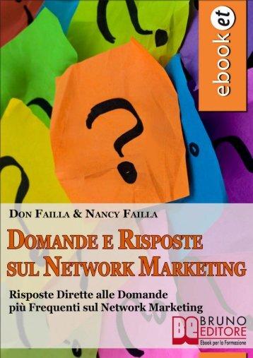 Domande e Risposte sul Network Marketing - Obbiettivo Benessere ...