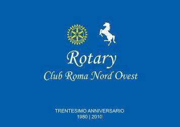 Trentesimo anniversario 1980 2010 - Rotary Roma NordOvest