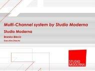 Multi-Channel system by Studio Moderna - Finance.si