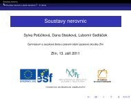 Soustavy nerovnic - GJŠ Zlín - Student - Gymnázium a Jazyková ...