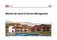 Maximo Asset and Service Management - Branko Tadic - NDB