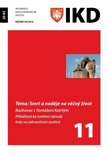 IKD 11/2010 - Biskupství královéhradecké