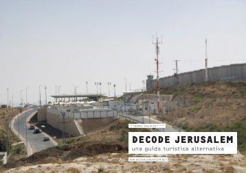 terra di nessuno - Decode Jerusalem