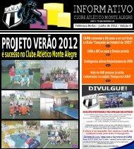 é sucesso no Clube Atlético Monte Alegre - cama clube